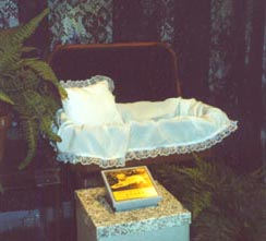 Burial supplies at Nancy Crane's Family Pet Care